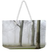 Fog Amongst The Trees Weekender Tote Bag
