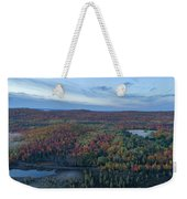 Fog And Fall Colors Weekender Tote Bag