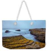 Fog And The Sea Weekender Tote Bag