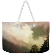 Fog Competes With Sun Weekender Tote Bag