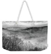 Fog In The Mountains - Pipestem State Park Weekender Tote Bag