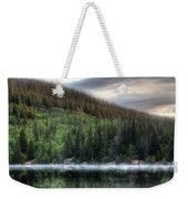 Fog On Bear Lake Weekender Tote Bag