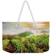 Fog On The Vines Weekender Tote Bag
