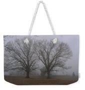 Fog On The Yorktown Battlefield Weekender Tote Bag