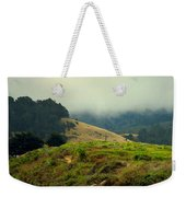 Fog Over The Lagoon Weekender Tote Bag