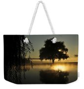 Fog Water And Sun Weekender Tote Bag