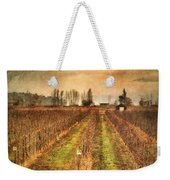 Foggy Afternoon On Highway 97 Weekender Tote Bag