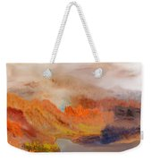 Foggy Autumnal Dream Weekender Tote Bag