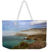 Foggy Day At Big Sur Weekender Tote Bag