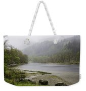 Foggy Day At Loch Lubnaig Weekender Tote Bag