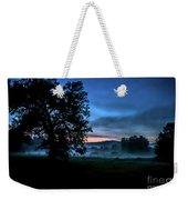 Foggy Evening In Vermont - Landscape Weekender Tote Bag