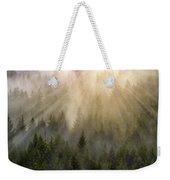 Foggy Forest Weekender Tote Bag
