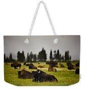 Foggy Herd Weekender Tote Bag