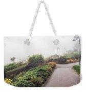 Foggy Langmoor Gardens - Lyme Regis Weekender Tote Bag