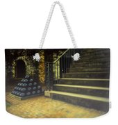 Foggy Morning At The Fort Weekender Tote Bag