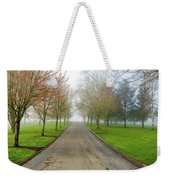 Foggy Morning At The Park Weekender Tote Bag