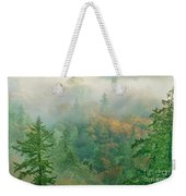 Foggy Morning In Humbolt County California Weekender Tote Bag