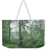 Foggy Morning In The Woods Weekender Tote Bag