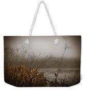 Foggy Morning Marsh Weekender Tote Bag