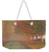 Foggy Morning On Cloudland Road Weekender Tote Bag