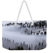 Foggy Mountain Pass Weekender Tote Bag