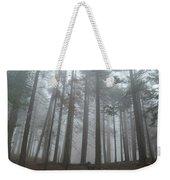 Foggy Sequoia National Park Weekender Tote Bag