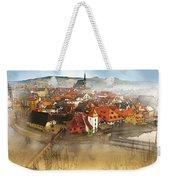 Foggy Small Town Weekender Tote Bag