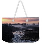 Foggy Sunrise At Chasewater Weekender Tote Bag