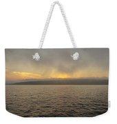 Foggy Sunset Weekender Tote Bag