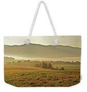 Foggy Valley Weekender Tote Bag