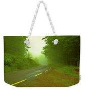 Foggy Way.  Weekender Tote Bag