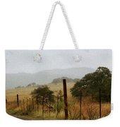 Foggy Wet Morning Weekender Tote Bag