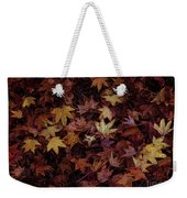 Foil Leaves Weekender Tote Bag
