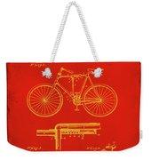 Folding Bycycle Patent Drawing 1c Weekender Tote Bag