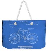 Folding Bycycle Patent Drawing 1d Weekender Tote Bag
