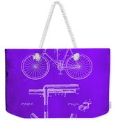 Folding Bycycle Patent Drawing 1e Weekender Tote Bag