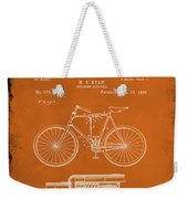 Folding Bycycle Patent Drawing 1g Weekender Tote Bag