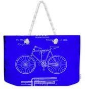 Folding Bycycle Patent Drawing 1h Weekender Tote Bag