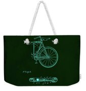 Folding Bycycle Patent Drawing 2a Weekender Tote Bag