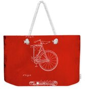 Folding Bycycle Patent Drawing 2b Weekender Tote Bag