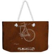 Folding Bycycle Patent Drawing 2c Weekender Tote Bag