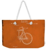 Folding Bycycle Patent Drawing 2e Weekender Tote Bag