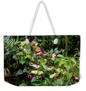 Foliage And Flowers Weekender Tote Bag