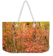 Foliage On Fire Weekender Tote Bag