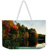 Foliage Reflections Weekender Tote Bag