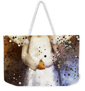 Folk Art Angel Weekender Tote Bag