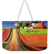 Folk Art Farm Weekender Tote Bag