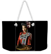 Folk Dancer Of The North East Weekender Tote Bag