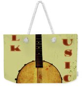 Folk Music Weekender Tote Bag