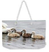Follow Mom Weekender Tote Bag